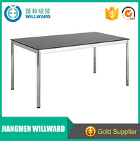 High quality executive rose gold table furniture/office furniture standard executive office table size