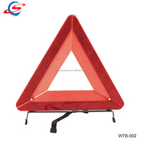 WTB-002 emergency tools safety refletor warning triangle for car with e mark