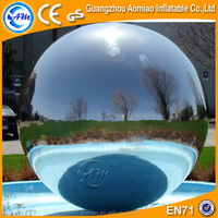 Silver material gaint inflatable helium ballons /selling prices of helium balloons in egypt