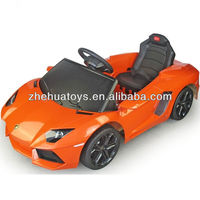 Kids Licensed Lamborghini Aventador R/C Ride on Car,Electric car with MP3