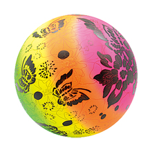 Rainbow Full Printing Soft Vinyl PVC Toy Beach Ball