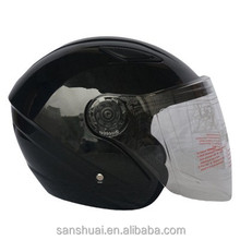 2014 best fashional leather open face novelty helmets for moto