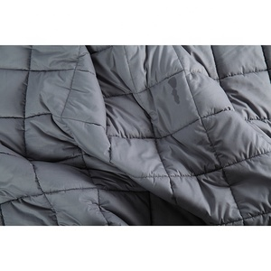 Plain color special heavy throw blanket, weighted blanket with zipper