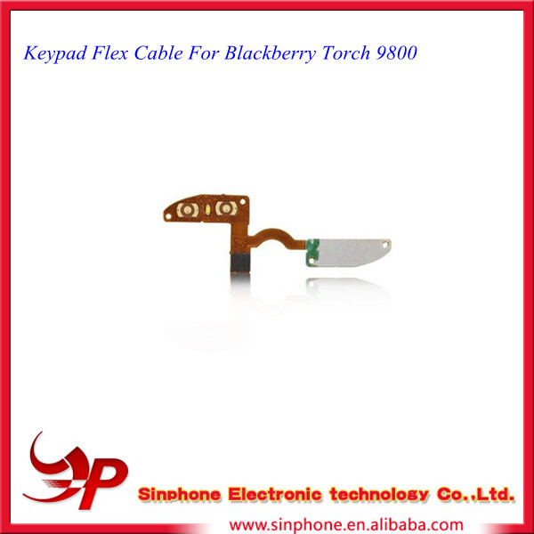 Keypad Membrane Flex Cable For Blackberry Torch 9800 Replacement