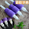 100% Newest and Original Purple Bird Disposable Tattoo Grip Hot selling Tattoo tubes(In Stock)
