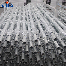 Quick erect construction scaffold Q235 Steel Hot Dip Galvanized modular ringlock system