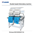 Hot sale embroidery machine 2 head for tajima embroidery machine
