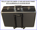 Draw-bar Frame travel case of ABS Hard Board Framed with /Aluminum Alloy KLCBY605-380-205