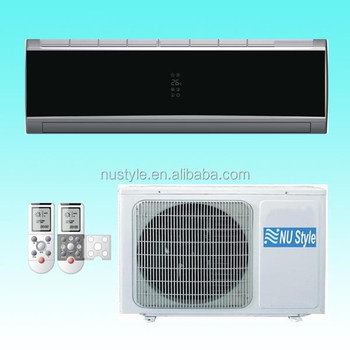 Mirror black Air Conditioner( R410a, 9000BTU, 12000BTU, 18000BTU, 24000BTU)