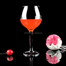 Aliisar hot cheap wholesales customized tasting red fancy crystal wine glass for wedding decoration