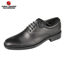 Hot sale Oxford Army Ceremonial Black Leather Military Officer Men Shoes
