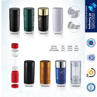 75g clear deodorant tube,AS plastic clear twist up deodorant container for mosquito cream