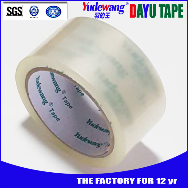 China best factory 60mic clear brown and color opp carton tape