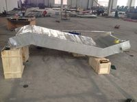Professional Stainless Steel Food Lifting Conveyor