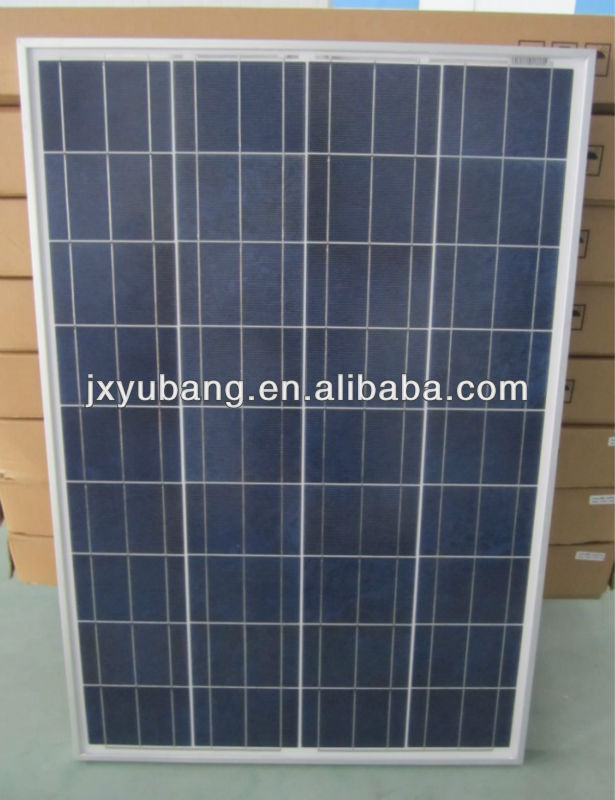 Cheap Chinese 80W 12V Poly crystalline pv panel solar panel solar module for caravan motor homes living container house boat