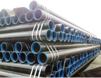 API 5L ASTM A53 A106 BLACK ERW STEEL PIPE WITH PLASTIC PVC SHEET