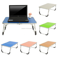 Portable Laptop Desk Table Stand Holder Adjustable Folding Lapdesk Bed Sofa Tray Notebook Computer Desk Camping Table for Outing