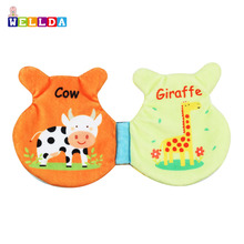 Children Plush Educational Toys baby soft book