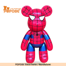 Big Size Spiderman Design Popobe Bear Toys Action Figure For Home Deco