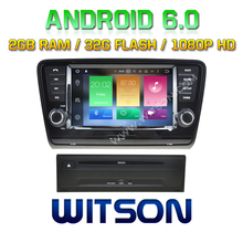 WITSON Octa-Core(Eight Core) Android 6.0 CAR DVD For SKODA Octavia 2013 2G ROM 1080P TOUCH SCREEN 32GB ROM