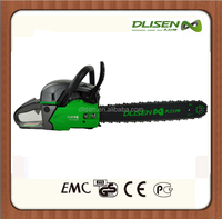 Garden machine gardening machine for chopping down trees gas chain saw