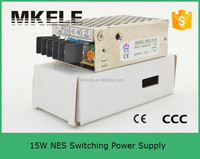 15w single output 48v switching power supply nes 15w led driver 300ma