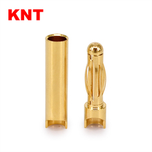4.0mm RC Model Battery Female Male Banana Bullet Connector Plug
