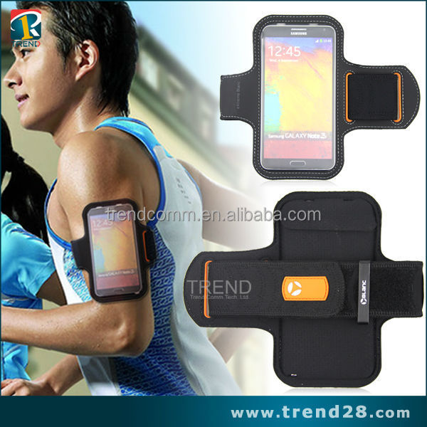 hot selling sport armband case for samsung note 3