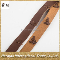 China hot sale hat trim wholesale pu trim band factory price made in china