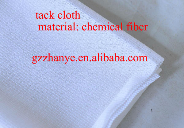 guangzhou QBC A380 good quality non-woven wiping tack cloth rag for removing dust