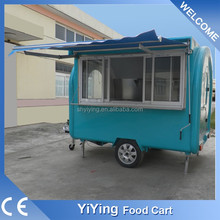 Hot dog selling use cheap hand push cart The best selling mobile bike food cart for sale