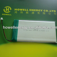 Reliable quality li polymer battery 3.7V 2100mAh for Intellectual lock