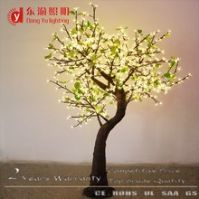 factory cheap led light up cherry blossom tree outdoor lighted warm white flower blossom sakura trees outdoor wedding decoration