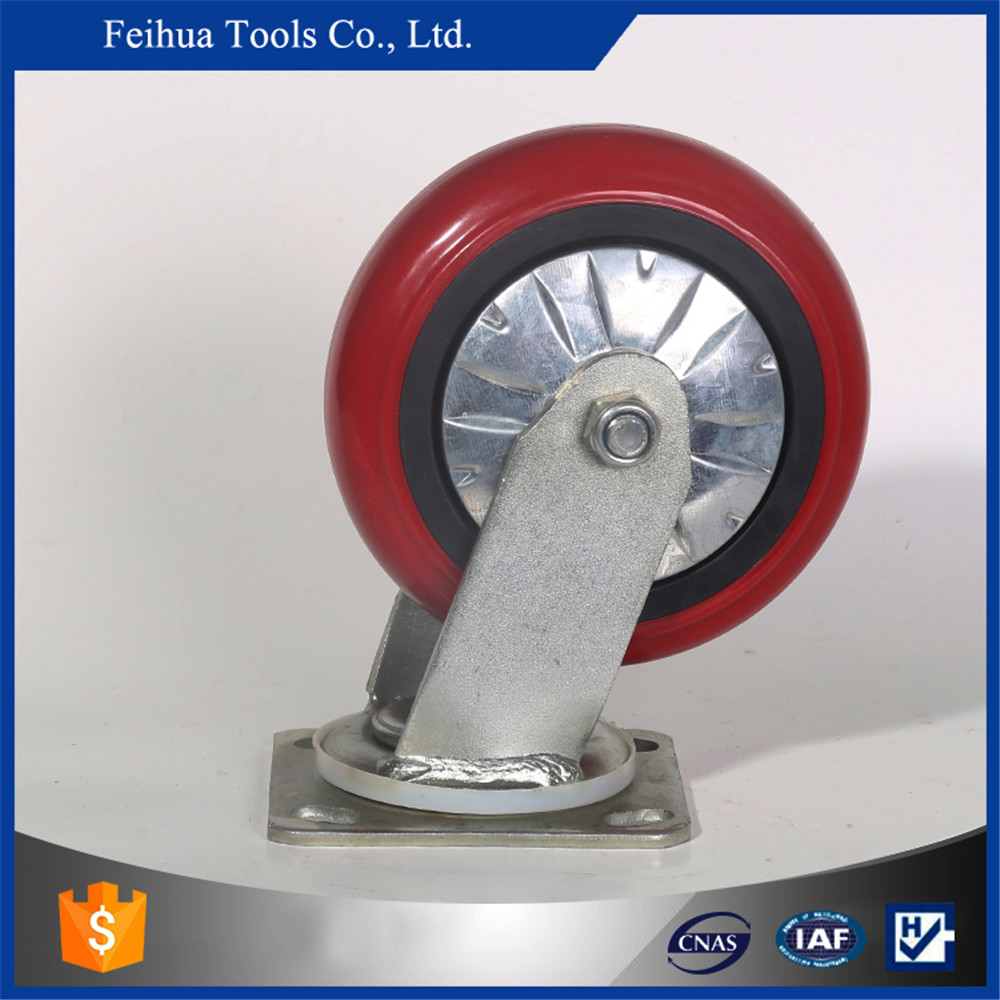 direct factory supply caster and wheel heavy duty castor wheel PU tread