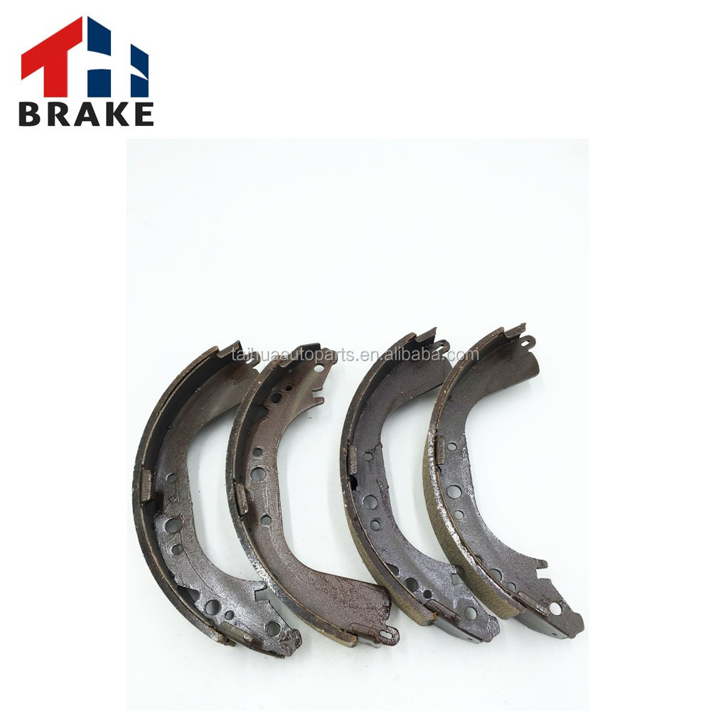 dual control brake pad shoes