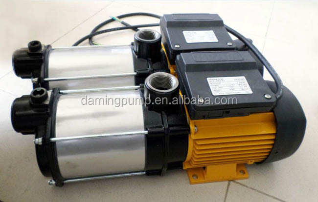 horizontal trype multistage centrifugal water pump (115-4M)