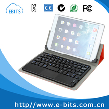 wireless bluetooth keyboard for 8 inch tablet pc leather keyboard case