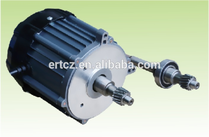 high quality dc motor for electric auto rickshaw