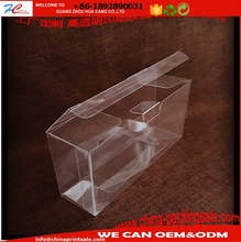 clear plastic candy chocolate packaging gift box packaging pet pp pvc folding box