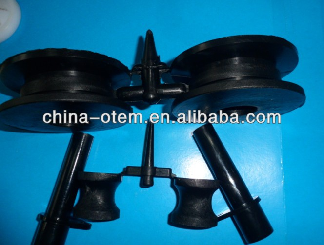 high corrosion ABS plastic wear injection roller