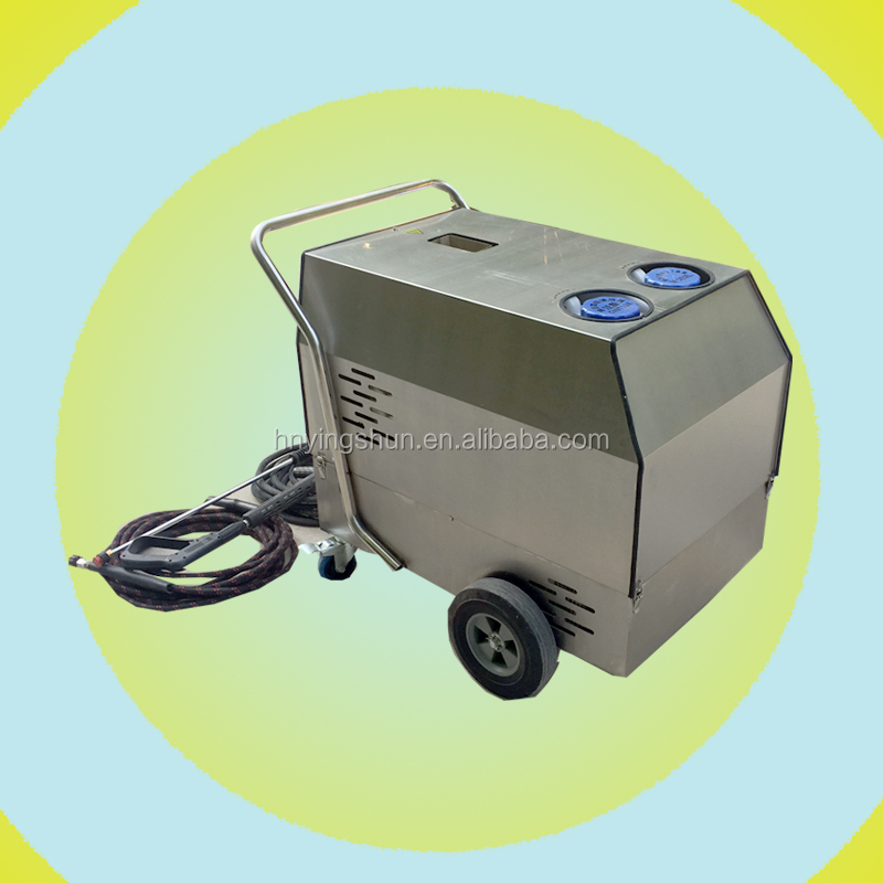 30bar diesel burner mobile steam car washing machine , mobile steam car wash business