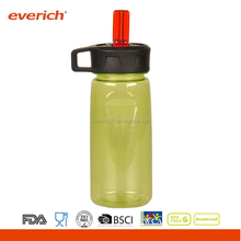 Everich 750ml Tritan Sports Plastic Drinking Water Bottle With Straw