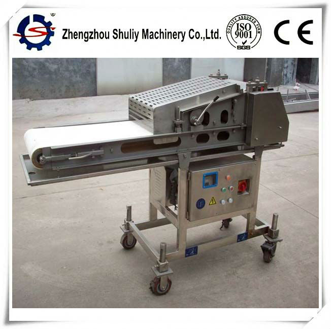 Factory price offered stainless steel 200-300kg/h meat flattening machine