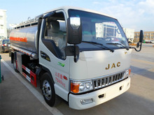 JAC mini fuel tanker truck 5m3 with good price for sale 008615826750255 (Whatsapp)