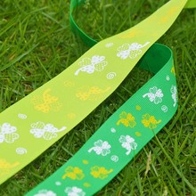 New design grosgrain ribbon/ rhythmic gymnastics ribbon