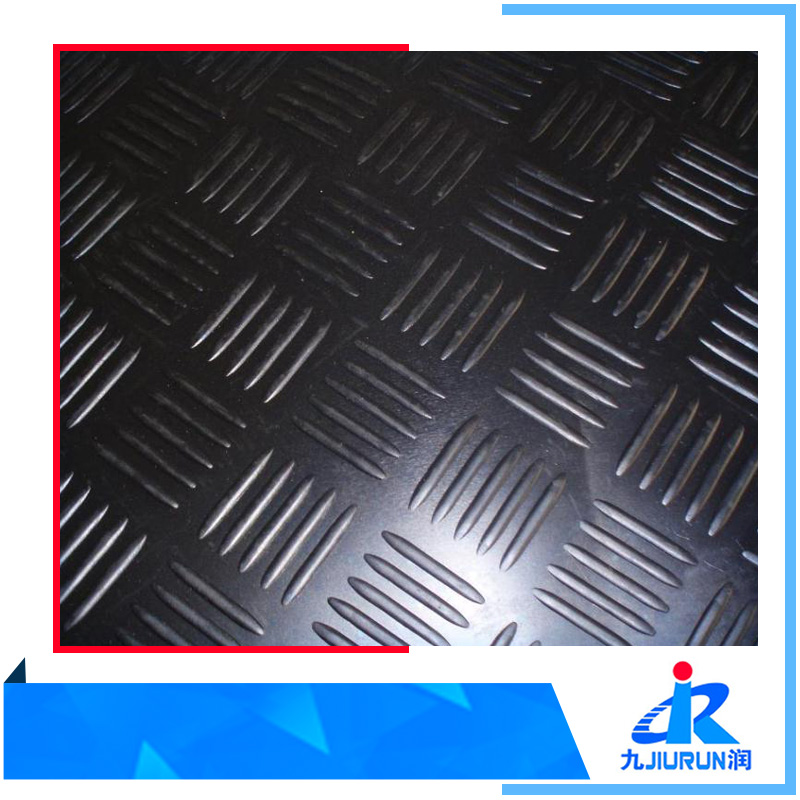 Anti Slip Cheap Outdoor Black Color Rubber Floor Matting Roll