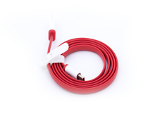 Original Manufacturer Factory red flat type-c cable for oneplus2 in Good Sell 2017