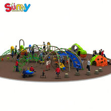 Children plastic playground slide made in china children's outdoor play structure plans