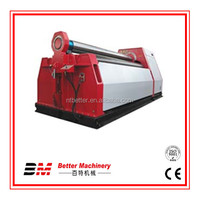 Double effort sheet metal roller