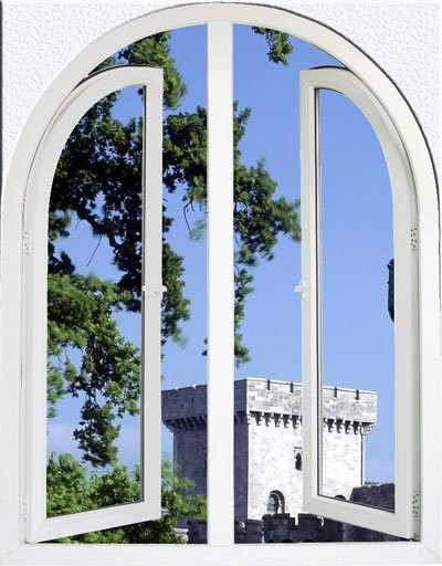 Client Specification size PVC casement window price philippines